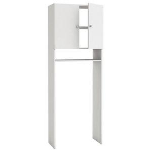 Utility Room Storage Unit, Velvet White