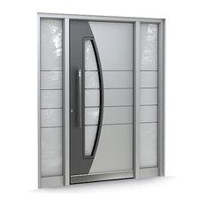 Contemporary front doors find upvc front doors composite for Contemporary upvc front doors