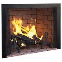 """Superior 50"""" Paneled Wood Burning Fireplace, White Stacked Panels"""