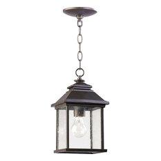 Oil-Rubbed Bronze Outdoor Hanging Lights | Houzz
