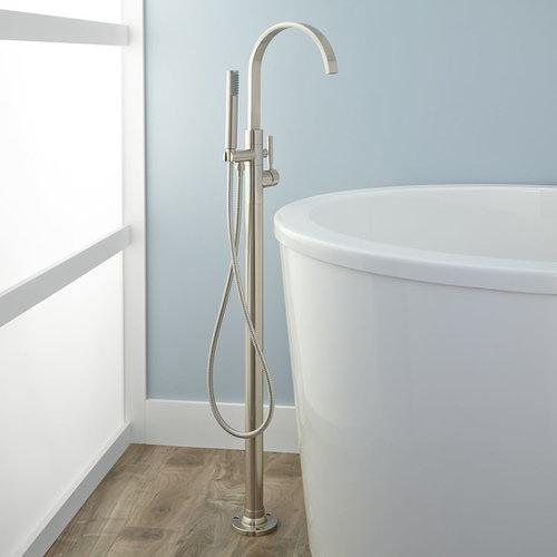 faucets knox freestanding tub bathroom black faucet