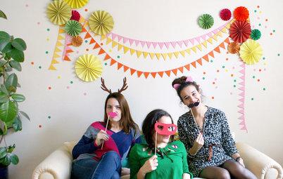 DIY : Aménagez un photobooth pour s'amuser en famille