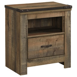 Rustic Nightstands And Bedside Tables by Ashley Furniture Industries
