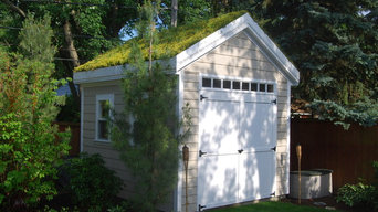 Custom Shed with Green Roof