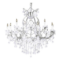 Swarovski Tm Chandelier With Crystal Balls