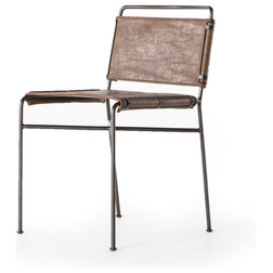 Industrial Dining Chairs by World Bazaar Outlet