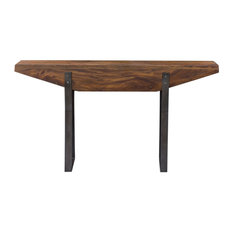 Uttermost Emryn Billy Moon Mahogany Wood Console Table 25404