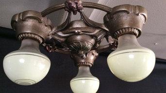 Finding Art Deco Lighting during Restoration of Older Homes