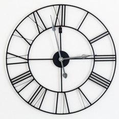 Horloge murale industrielle for Pendule murale industrielle