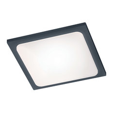 Trave LED Outdoor Patio Light, Charcoal
