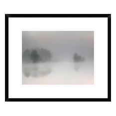 """Misty Morning"" Framed Digital Print by Bjorn Emanuelson, 24""x19"""