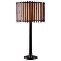 Kenroy Home 32279BRZ Bora 1 Light Outdoor Table Lamp