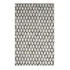 Safavieh Studio Leather STL666A Ivory, Gray 8'x10' Rug
