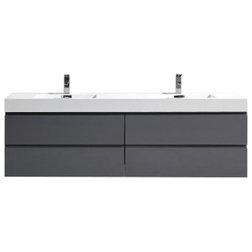Contemporary Bathroom Vanities And Sink Consoles by Bathroom Vanity Wholesale INC.