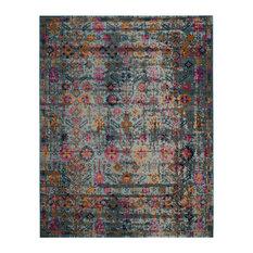 Ananya Turquoise Area Rug, 200x274 cm
