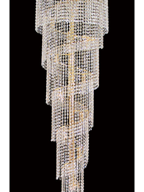 Rosetta spiral asfour crystal chandeliers aloadofball Image collections