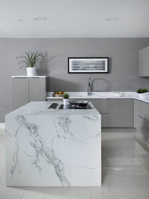 Acrylic Kitchen Displayed in our Newbridge Store - Kitchen Products