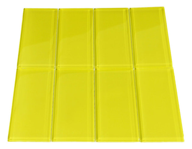 Fantastic 3X6 Subway Tile Backsplash Thick 4 Inch White Ceramic Tiles Rectangular 4 X 8 Ceramic Tile 6 X 12 Floor Tile Old Acoustical Tiles Ceiling BrownAdhesive For Ceiling Tiles Yellow Glass Subway Tile   Contemporary   Wall And Floor Tile   By ..