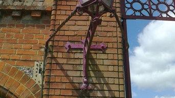 Refurbishment of Grade II listed gates
