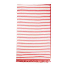 Cavaloni Portoguese Beach Towel, Coral