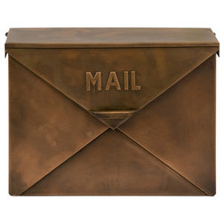 Traditional Mailboxes by Benzara, Woodland Imprts, The Urban Port