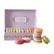French Macaron Trinket Box, Lavender