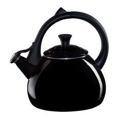 Le Creuset Black Onyx Enamel on Steel 1.6 Quart Oolong Tea Kettle