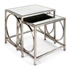 Grant Mirror Tables, 2-Piece Set