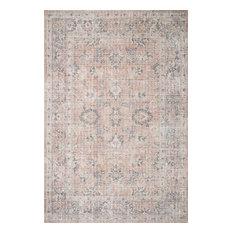 "Skye Printed Area Rug by Loloi II, Blush/Gray, 3'6""x5'6"""