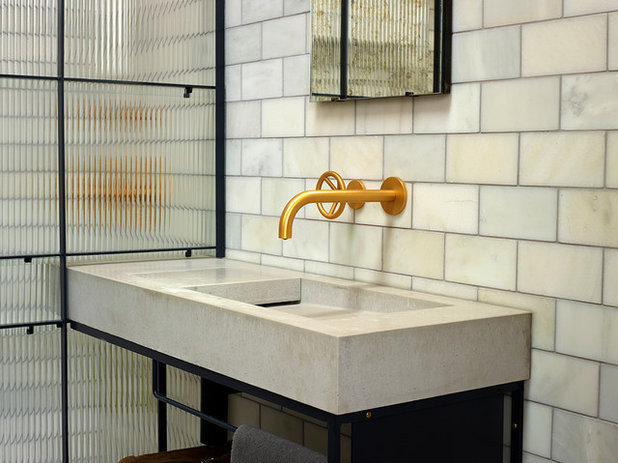 Contemporary Bathtubs by Kast Concrete Basins