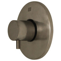 Luxe Round Volume Control With Short Lever Handle