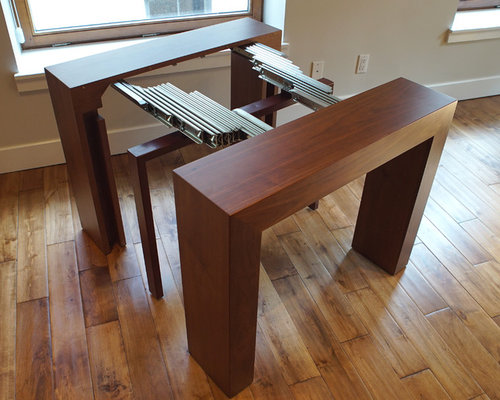Transformer Table Modern Extendable Dining Table