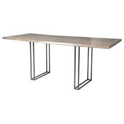 Industrial Dining Tables by The Khazana Home Austin Furniture Store