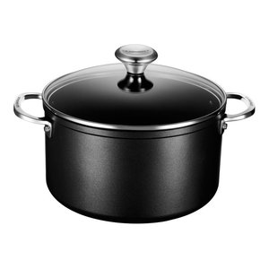 Le Creuset 6 1/3 qt. Stockpot With Glass Lid
