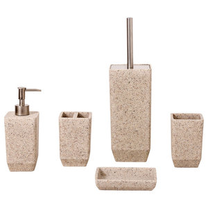 Sand Effect Metro Bathroom Accessory Collection