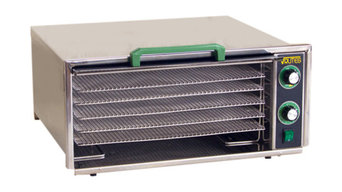 Square Rutes 5-Tray Stainless Steel Dehydrator