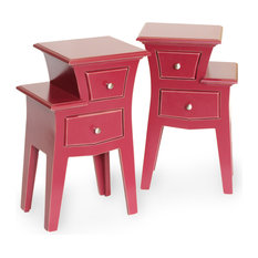Funky Bedside Tables eclectic funky side tables and end tables | houzz