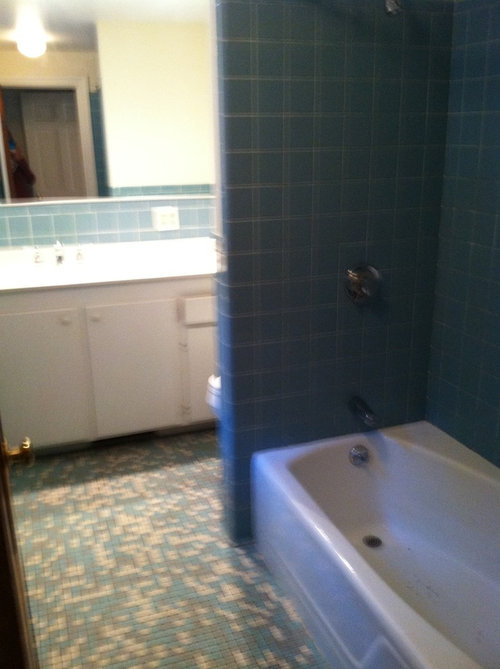 How Can I Make My Bath Look Updated Without Changing The Old Tile