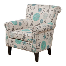 gdfstudio roseville floral design club chair armchairs and accent chairs