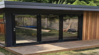 Some of our recent garden room builds