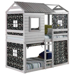 Farmhouse Bunk Beds by Donco Trading Co