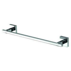 Musa Modern Chrome Towel Rail, Small