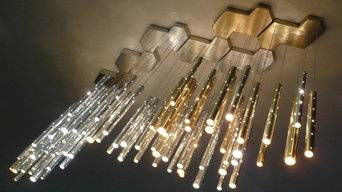 Rain 7 Clouds Chandelier (70 drops)