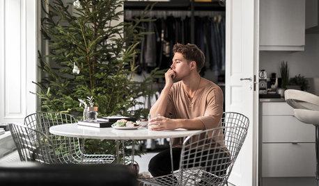 Houzz Tour: Tillbaka till framtiden hos Andreas Wijk