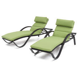 Tropical Outdoor Chaise Lounges by RST Outdoor