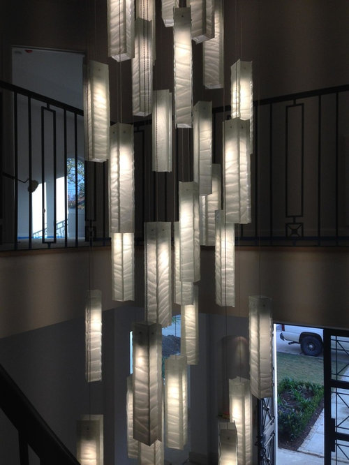Large Modern Foyer Light : Contemporary foyer lighting modern entry chandelier for