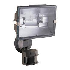 "Heath Zenith HZ-5311 1 Light 7""W Outdoor Single Head Flood Light - Bronze"