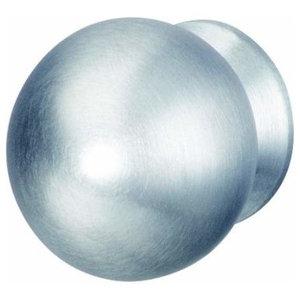 Hafele: Knob: Stainless Steel: Matt: M4: 30 X 39mm