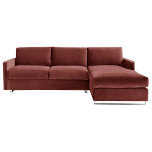 Felix Corner Sofa Bed, Ter, 3 Seater, Right Hand Facing, Euro King