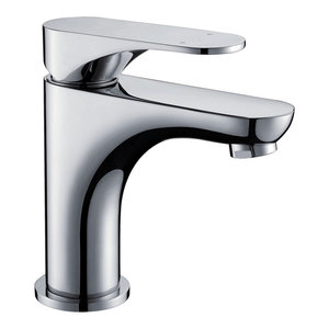 Dawn Single-Lever Faucet, Chrome, Pull-Up Drain With Lift Rod